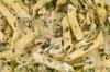 02 Penne s kuřecím masem a špenátem